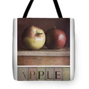 Deco Apples Tote Bag