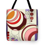 Deco Circles Tote Bag