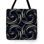 Deco Swirls Tote Bag