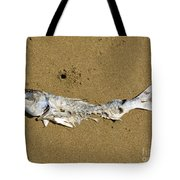 Decomposing Dead Fish Carcass Washed Ashore Tote Bag