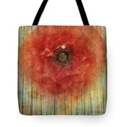 Decor Poppy Blossom Tote Bag