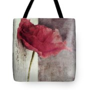 Decor Poppy Tote Bag by Priska Wettstein