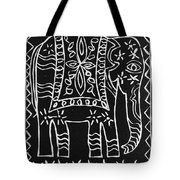 Decorated Elephant Tote Bag