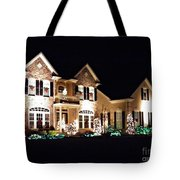 Decorated For Christmas Tote Bag