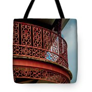Decorative Balcony Tote Bag