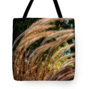 Decorative Grass Wind Autumn And Orton Tote Bag