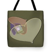 Decorative Heart Tote Bag