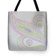 Decorative Leaf Tote Bag