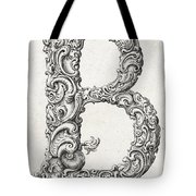 Decorative Letter Type B 1650 Tote Bag