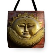Decorative Wall Plaque In Kathmandu Nepal Tote Bag