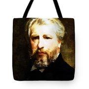 Dedication To William Adolphe Bouguereau Tote Bag