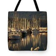 Deep Bay Tote Bag by Randy Hall
