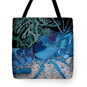 Deep Blue Tote Bag