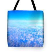 Deep Blue Sky And Clouds Tote Bag