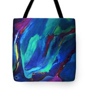 Deep Blue Thoughts Tote Bag