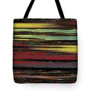 Deep Color Field Tote Bag