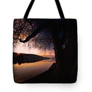 Deep Creek Sunrise Tote Bag