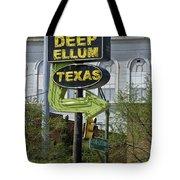 Deep Ellum Texas Tote Bag