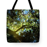 Deep Forest Light Tote Bag