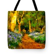 Deep In A Forest Tote Bag
