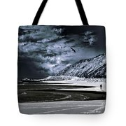 Deep Into That Darkness  Tote Bag