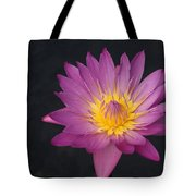 Deep Pink And Yellow... Tote Bag