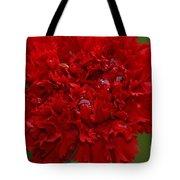 Deep Red Carnation 2 Tote Bag