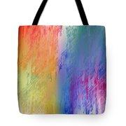 Deep Rich Sherbet Abstract Tote Bag