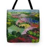 Deep Ridge Red Hill Tote Bag