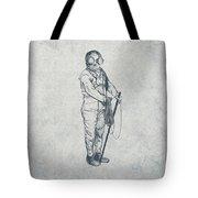 Deep Sea Diver - Nautical Design Tote Bag by World Art Prints And Designs