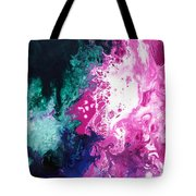 Deep Space Canvas Three Tote Bag