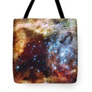 Deep Space Fire And Ice  Tote Bag