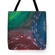 Deepen Abstract Shapes Tote Bag