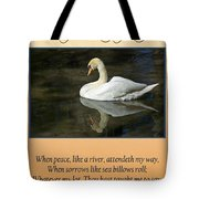 Deepest Sympathy Card Tote Bag