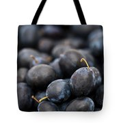Deeply Damson Tote Bag by Anne Gilbert