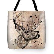 Deer 4 Tote Bag