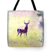 Deer - Buck - White-tailed Tote Bag