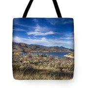 Deer Creek Dam-provo Utah Tote Bag