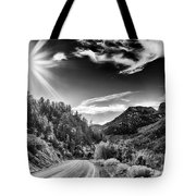 Deer Creek Road Tote Bag