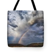 Deer Creek Storm Tote Bag