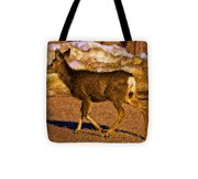 Deer In A Different Light Tote Bag