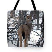 Deer In The Grove Tote Bag
