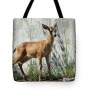 Deer On A Walkabout Tote Bag
