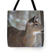 Deer Profile Tote Bag