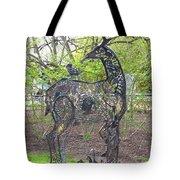 Deer Sculpture Tote Bag