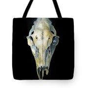 Deer Skull With Aura Tote Bag