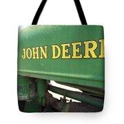 Deere Support Tote Bag