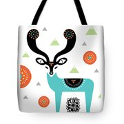 Deery Mountain Tote Bag
