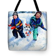 Defend Our Front Yard Tote Bag