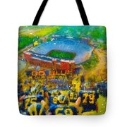 Defending The Big House Tote Bag